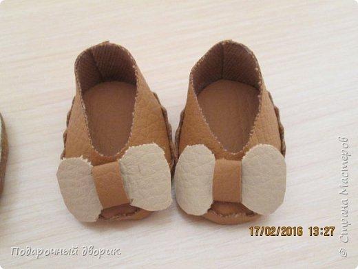 Кукольные туфельки- 3см,4 см,5см. фото 6