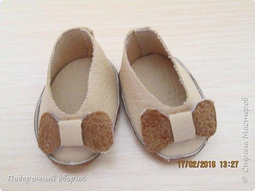 Кукольные туфельки- 3см,4 см,5см. фото 7