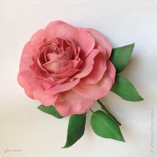 Эксперименты с фомом продолжаются : роза фото 3