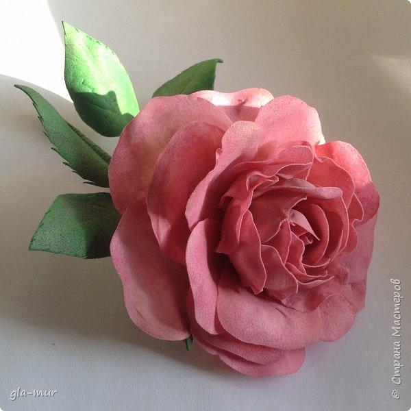 Эксперименты с фомом продолжаются : роза фото 1