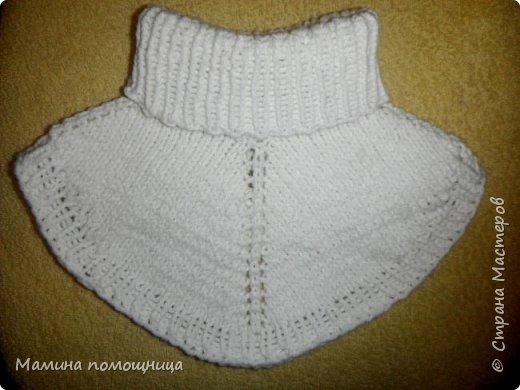 Здравствуйте! Подоспели у меня новые шапочки и пинетки связанные на заказ. Шапка-шлем для новорожденного фото 8