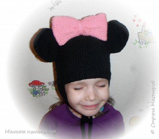 Здравствуйте! Подоспели у меня новые шапочки и пинетки связанные на заказ. Шапка-шлем для новорожденного фото 6