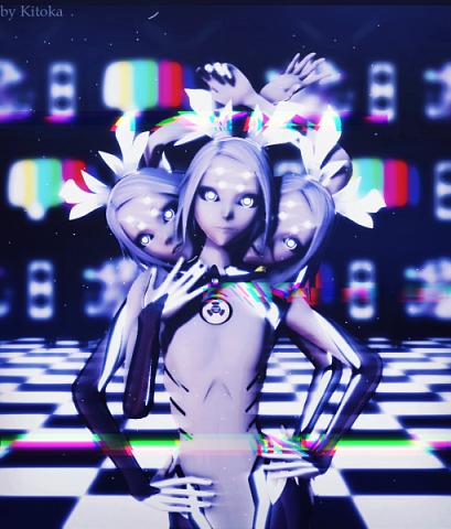 MMD Glitch Rin | Kuroyu фото 1