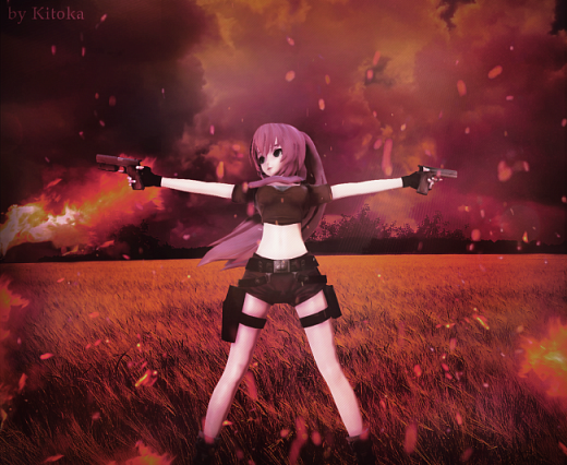 MMD The war with hell | Luka