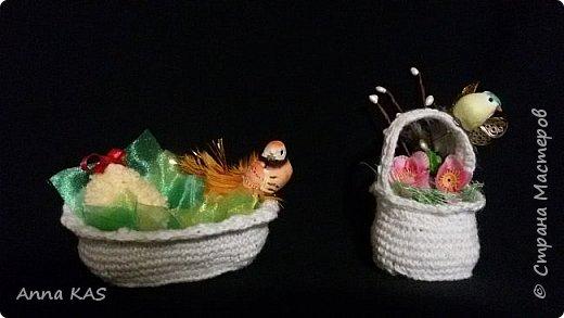 Корзиночки для пасхальных яиц фото 1