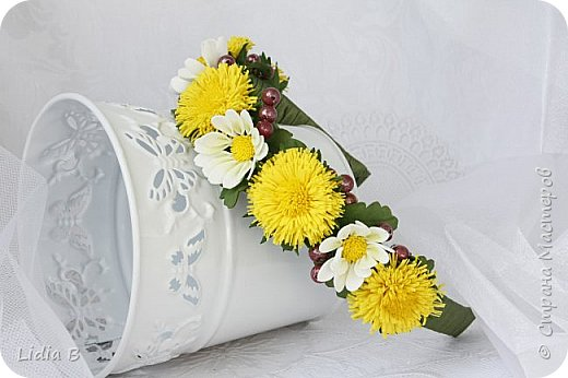 Держитесь, фоток будет много, итак, поехали!  Букет-дублер. Цветы сделаны в облегченной технике, в целях понижения стоимости (кризис...) фото 9