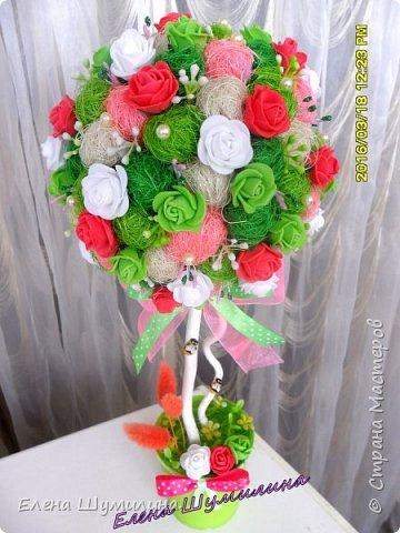 Топиарий-дерево счастья фото 8