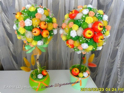 Топиарий-дерево счастья фото 4