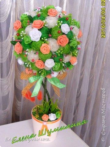 Топиарий-дерево счастья фото 7