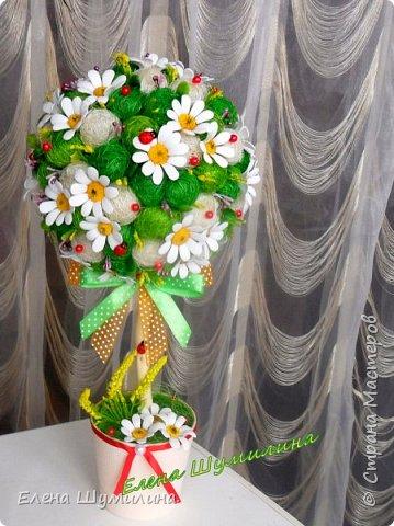 Топиарий-дерево счастья фото 6