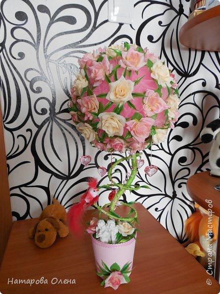 Всем Привет! Представляю новую работу, очень нежный топик с любимыми розами. Подарок на юбилей тети  фото 7
