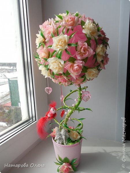 Всем Привет! Представляю новую работу, очень нежный топик с любимыми розами. Подарок на юбилей тети  фото 1