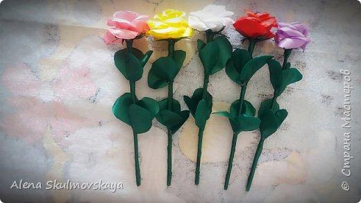 розы из атласных лент фото 30