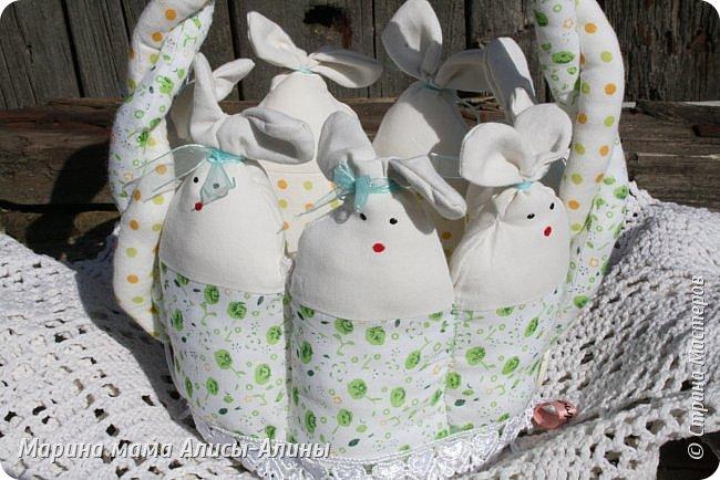 Начинаю готовиться к Пасхе. Пасхальная корзиночка для яичек в садик. фото 3