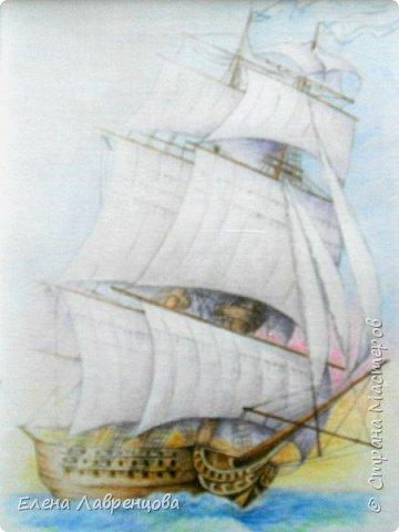 """""""Букет в вазе"""" Техника: акварель и цветной карандаш. Картина нарисована на заказ. фото 8"""
