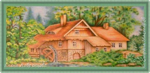 Мельница в лесу фото 1