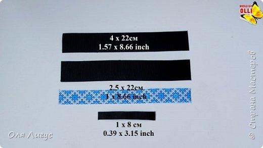 Бабочка-галстук с интересным креплением фото 2