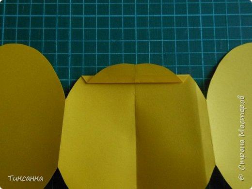 Открытка в форме яйца, при открывании  которой  появляется цыпленок. При ее изготовлении используются приемы оригами и скрапбукинга. фото 12