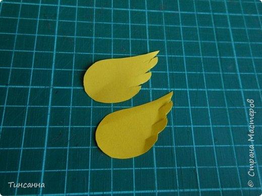 Открытка в форме яйца, при открывании  которой  появляется цыпленок. При ее изготовлении используются приемы оригами и скрапбукинга. фото 18