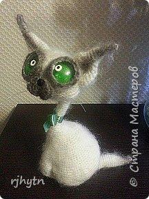 Лунный кот. Связан по мастер-классу Светланы Перцевой. фото 1