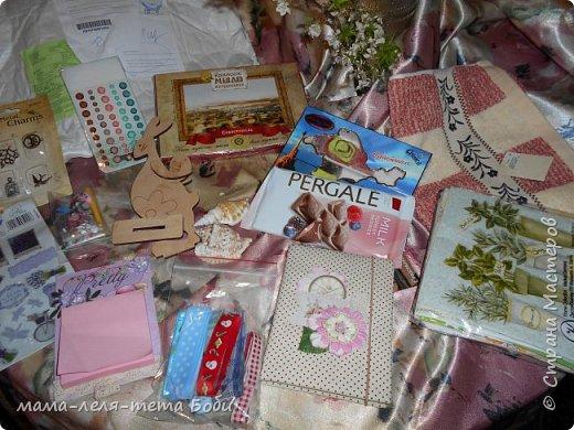 Получила прекрасние подарки от мастерица из Севастополя Анютик-Нютик! Она живет здесь http://stranamasterov.ru/user/233488  фото 1