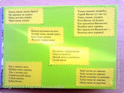 """Изготовление книжки-малышки """"Усатый-полосатый"""" 1 страница фото 8"""