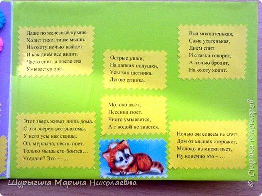 """Изготовление книжки-малышки """"Усатый-полосатый"""" 1 страница фото 11"""