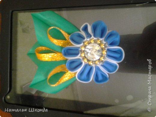 Привет всем жителям Страны мастеров!Хочу показать свои ободочки.Их пока 2 шт.Цветы сделаны из фоамирана , делала сама. фото 6