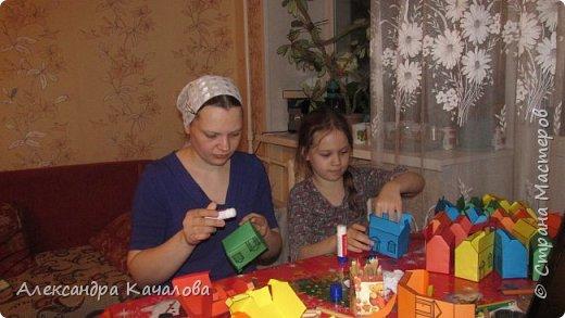 26 марта старшей дочке Танюше исполнилось 10 лет. И вот в таких домиках отнесли в лицей угощение. фото 4