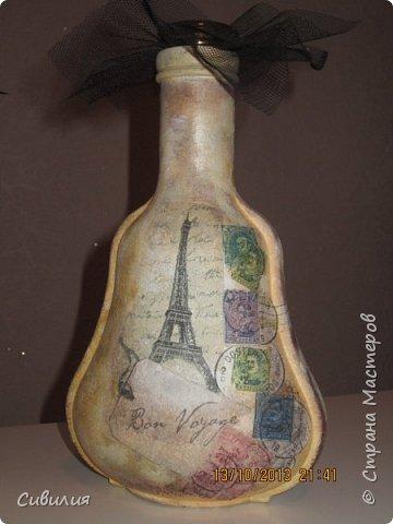 """Бутылки, как предмет декора кухни в стиле """"прованс"""" фото 13"""