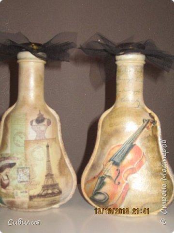 """Бутылки, как предмет декора кухни в стиле """"прованс"""" фото 12"""