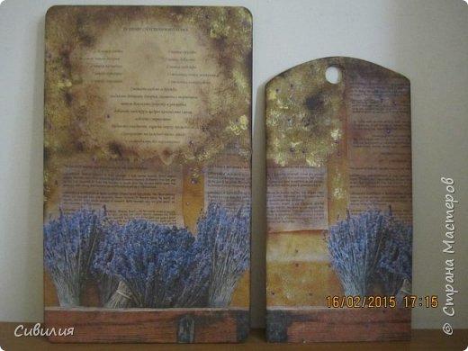 Деревянные разделочные кухонные доски как предмет декора. фото 1