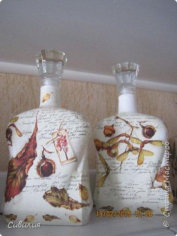 """Бутылки, как предмет декора кухни в стиле """"прованс"""" фото 17"""
