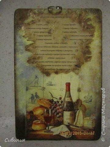 Деревянные разделочные кухонные доски как предмет декора. фото 2