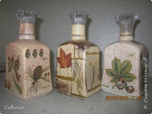 """Бутылки, как предмет декора кухни в стиле """"прованс"""" фото 21"""