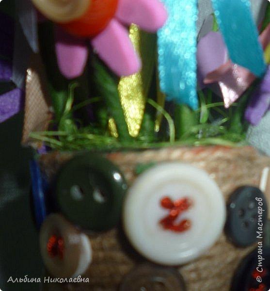 """Здравствуйте мастера и мастерицы! Я принимаю участие в игре -обмене """"Сад-огород"""", организованной нашими прекрасными организаторами Наташей и Татьяной. Условия игры и ее участники находятся здесь  http://stranamasterov.ru/node/1015443 По условиям игры каждый участник выставляет фрагмент поделки, соответствующий данному этапу.  Итак мой фрагмент коробочки с """"богатством"""".  фото 4"""