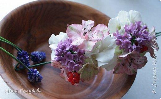 Продолжаю отрабатывать лепку роз.В этот раз вот такую слепила,такого цвета я еще розы не лепила) фото 9