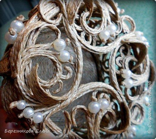 Всем привет)))Проба пера в виде ажурного кругляша с бусинами. фото 10