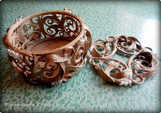 Всем привет)))Проба пера в виде ажурного кругляша с бусинами. фото 4