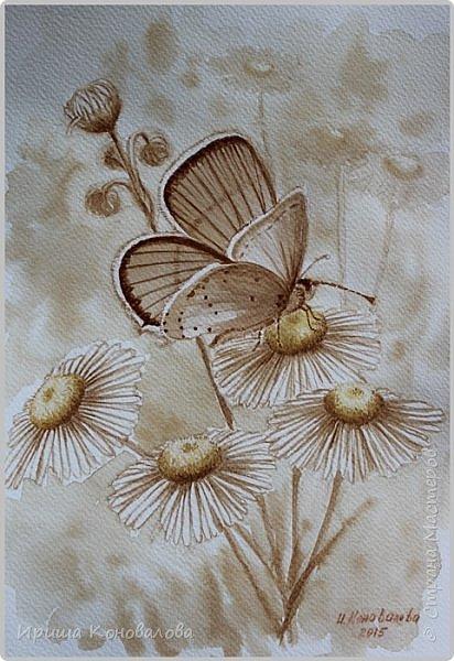 Рисунки акварелью: фото 25