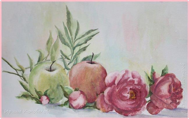 Рисунки акварелью: фото 5