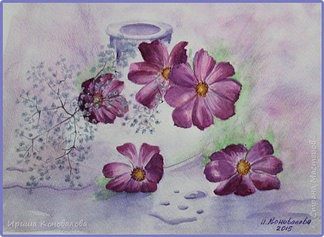 Рисунки акварелью: фото 10