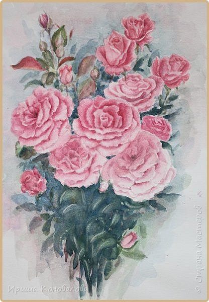 Рисунки акварелью: фото 8