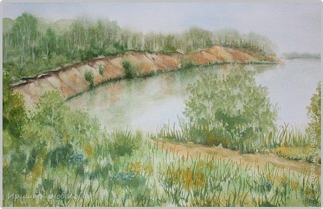 Рисунки акварелью: фото 16