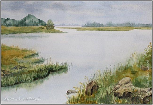 Рисунки акварелью: фото 17