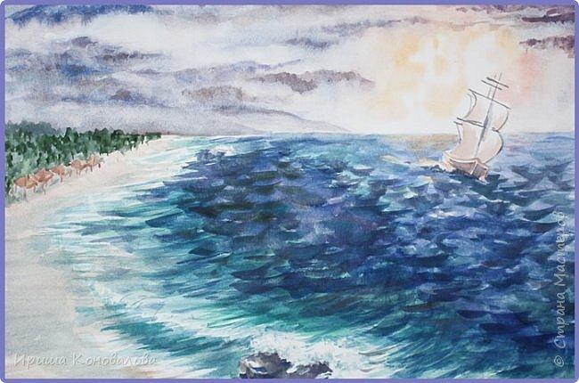 Рисунки акварелью: фото 20