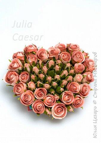 Здравствуйте дорогие рукодельницы!   Представляю Вам мой небольшой мастер-класс по созданию бутона розы из фоамирана.   фото 31