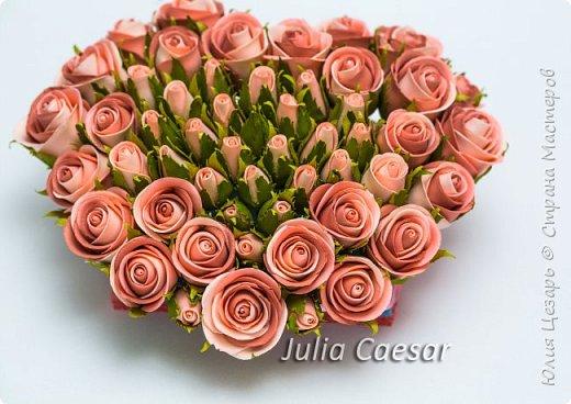 Здравствуйте дорогие рукодельницы!   Представляю Вам мой небольшой мастер-класс по созданию бутона розы из фоамирана.   фото 1