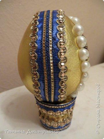 Всем, здравствуйте!Очень понравились Пасхальные яйца,сделанные Светланой Хачиной и её дочерью Радмилой.  http://stranamasterov.ru/node/709253  Вот решилась сделать фото 11