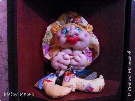 Сидела, сидела и сшила вот такую очаровашку!!!  фото 1